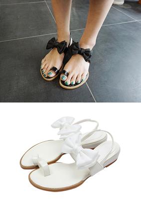 马贝丝带 - 凉鞋