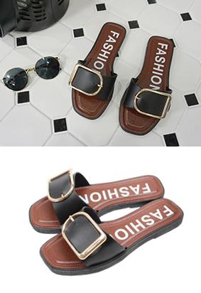 金腰带 - 拖鞋