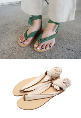冠层 - 凉鞋