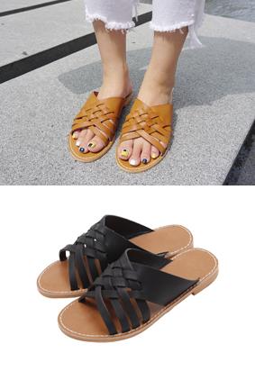 毛毡 - 拖鞋
