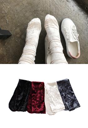 丝绒 - 袜子