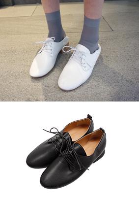 室内运动骡子 - 包子鞋