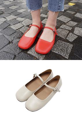 西红柿 - 平底鞋