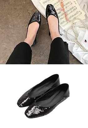 闪耀 - 平底鞋